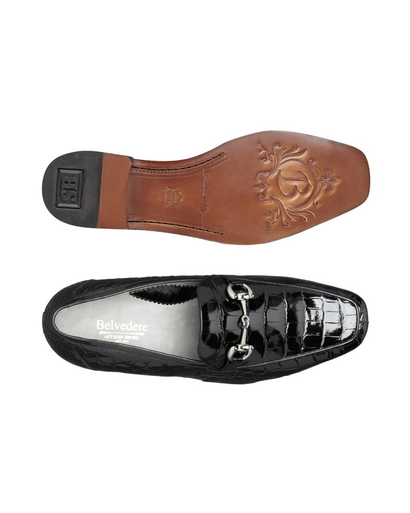 Belvedere Alligator Loafer