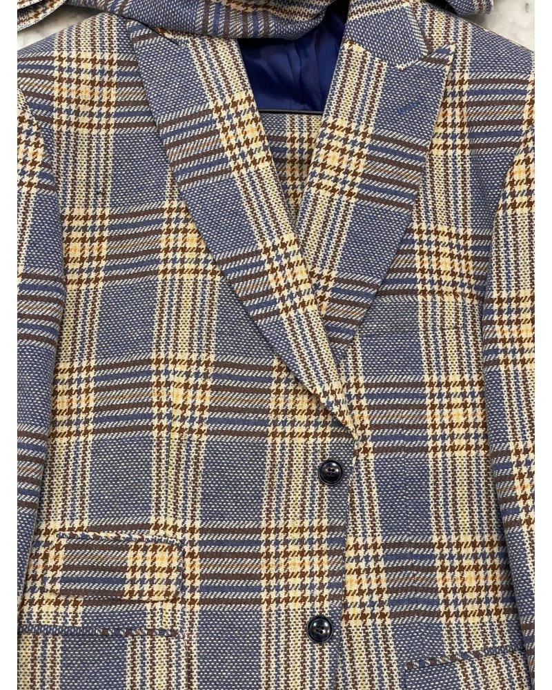 Thread & Stitch Plaid Check Suit
