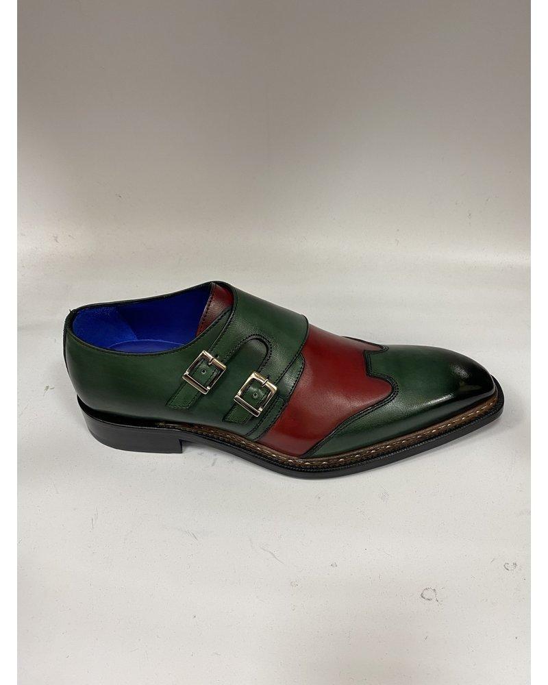 Emelio Franco Double Monk Strap Shoe
