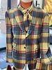 Thread & Stitch Wool Window Plaid Suit
