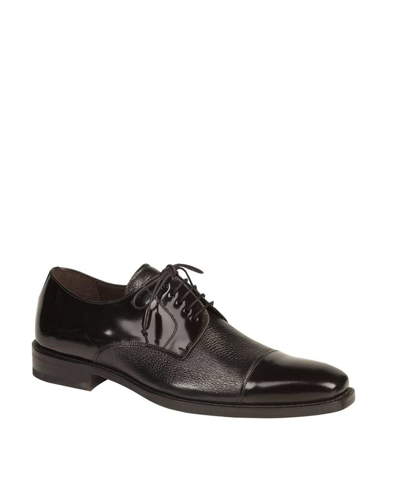 Mezlan Leather Cap Toe Shoe (Soka)