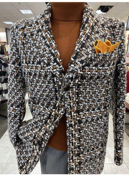 Lanzino Chenelle Wool Blazer W/Scarf