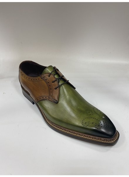 Emelio Franco Lace Up Oxford Leather Shoe (Maurizio)