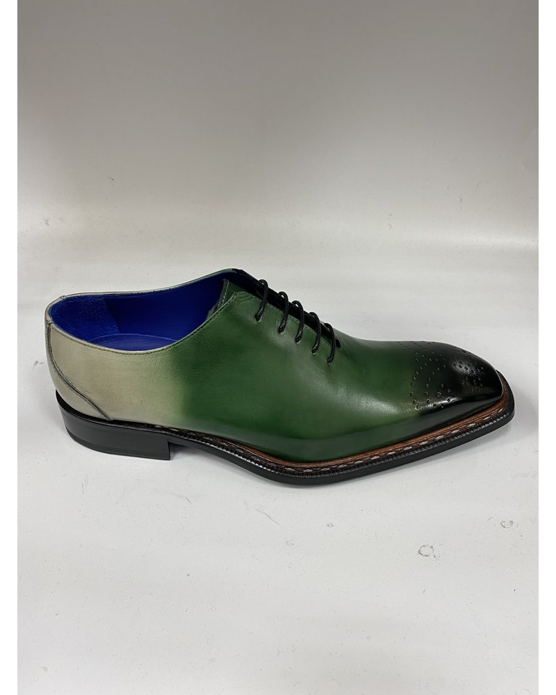 Emilio Franco Faded Tri Tone Leather Shoe (Valerio)