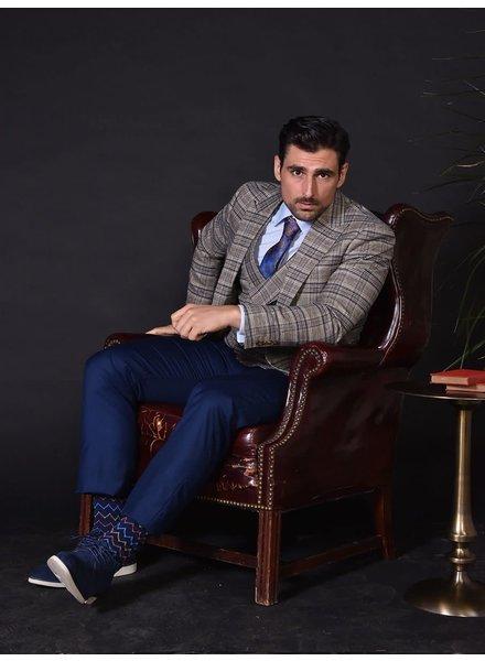 Steven Land Plaid Compose Suit