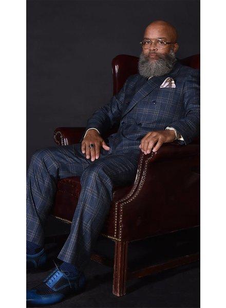 Steven Land D/B Window Pane Suit