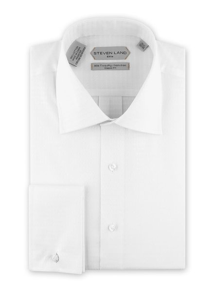 Steven Land Elite French Cuff Dress Shirt