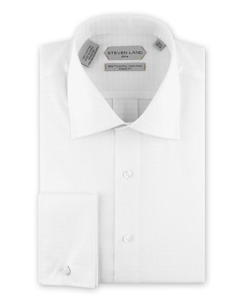 Steven Land Elite French Cuff Dress Shirt