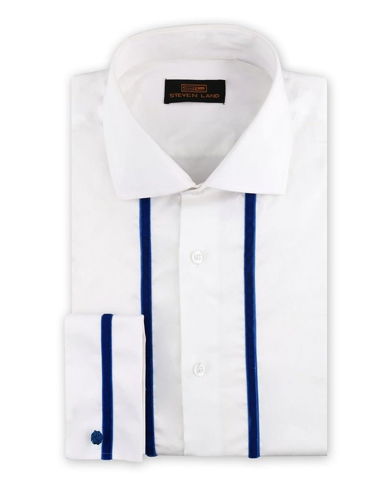Steven Land Velvet Stripe Shirt