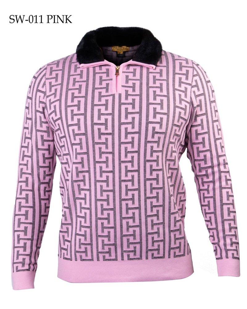 Prestige Half Zip Mock W/Fur Lining