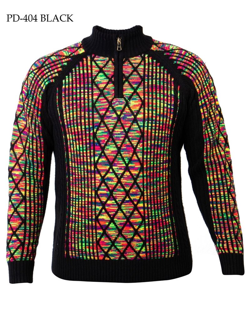 Prestige  Mock Zip Sweater