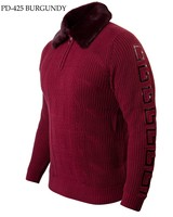 Prestige Polo Knit W/Fur Collar