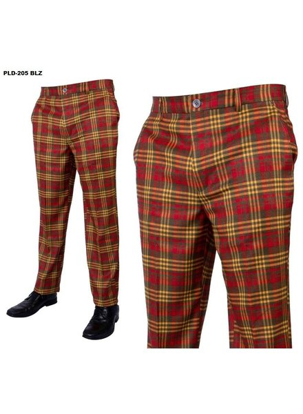 Prestige Wool Plaid Pant S20