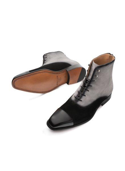 Mezlan Cap Toe Lace Up Boot (Harlem)