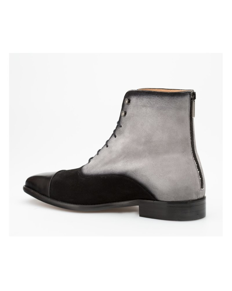 Mezlan Cap Toe Lace Up Boot (Harlem)