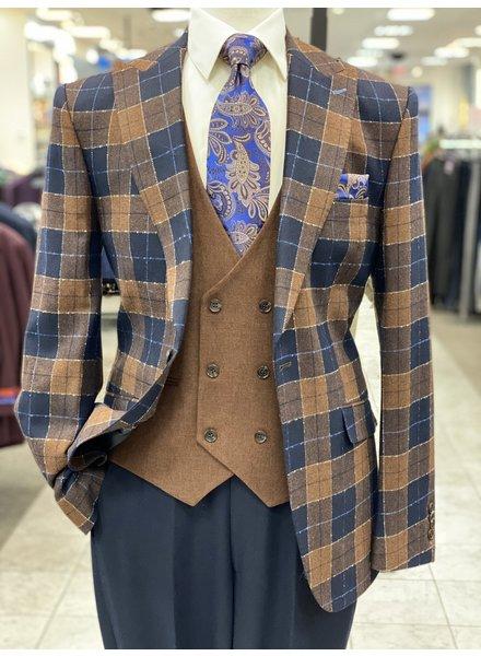Tayion Plaid Compose Suit