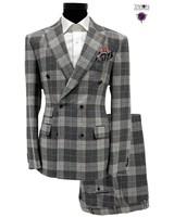 Tayion D/B Plaid Check Suit