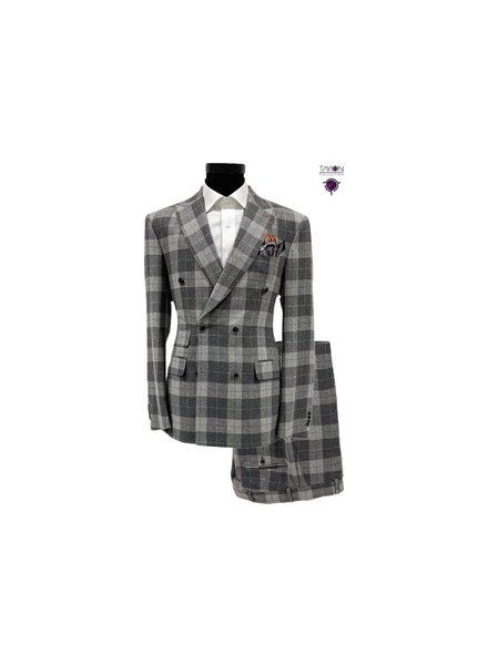 Tayion D/B Plaid Check Suit