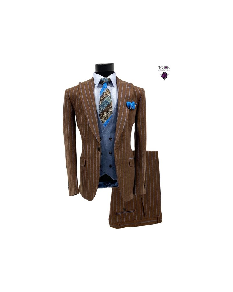 Tayion Pinstripe Compose Suit