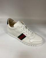 Emilio Franco Leather Web Sneaker