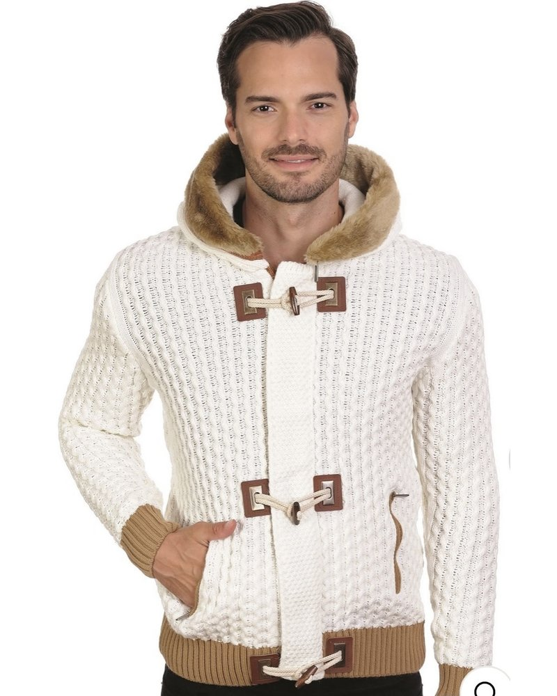 Black Edition Full Zip Sweater W/ Hoodie