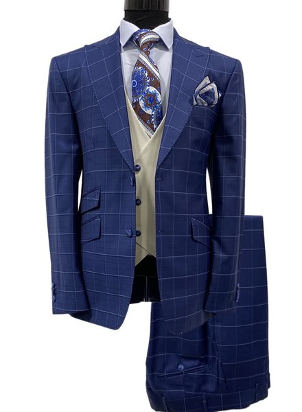Tayion Window Paine Compose Suit
