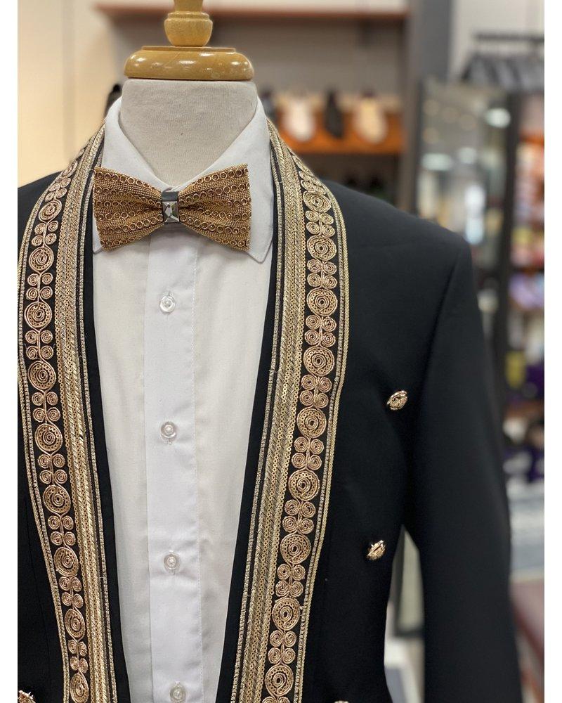 Biarelli Non Lapel Lace Suit (Slim Fit)