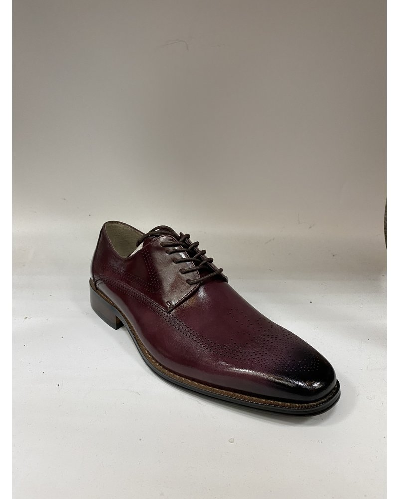 Giovanni Lace Up Oxford Leather Shoe