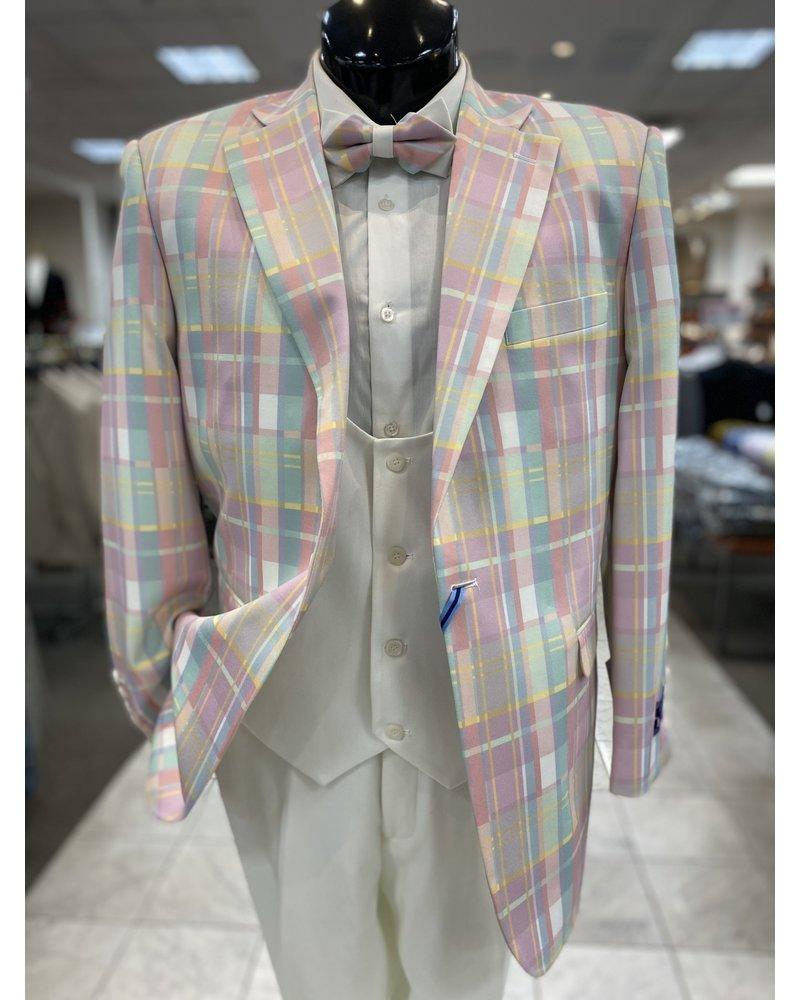 Multi Plaid Compose Suit