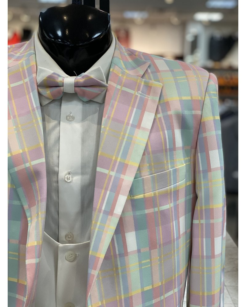 Multi Plaid Compose Suit