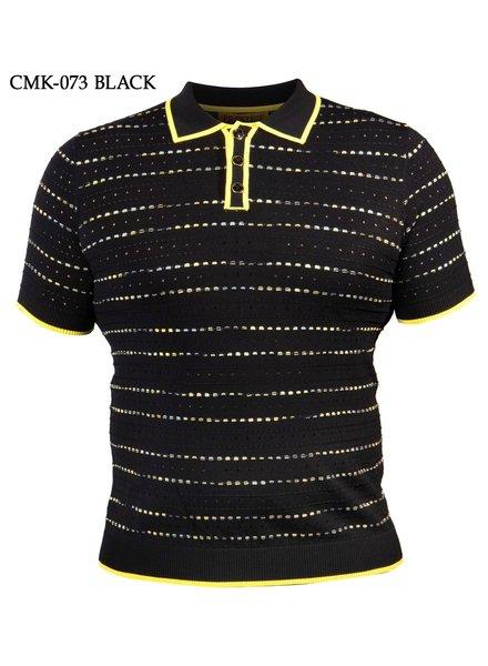 Prestige S/S 2 Tone Polo Knit