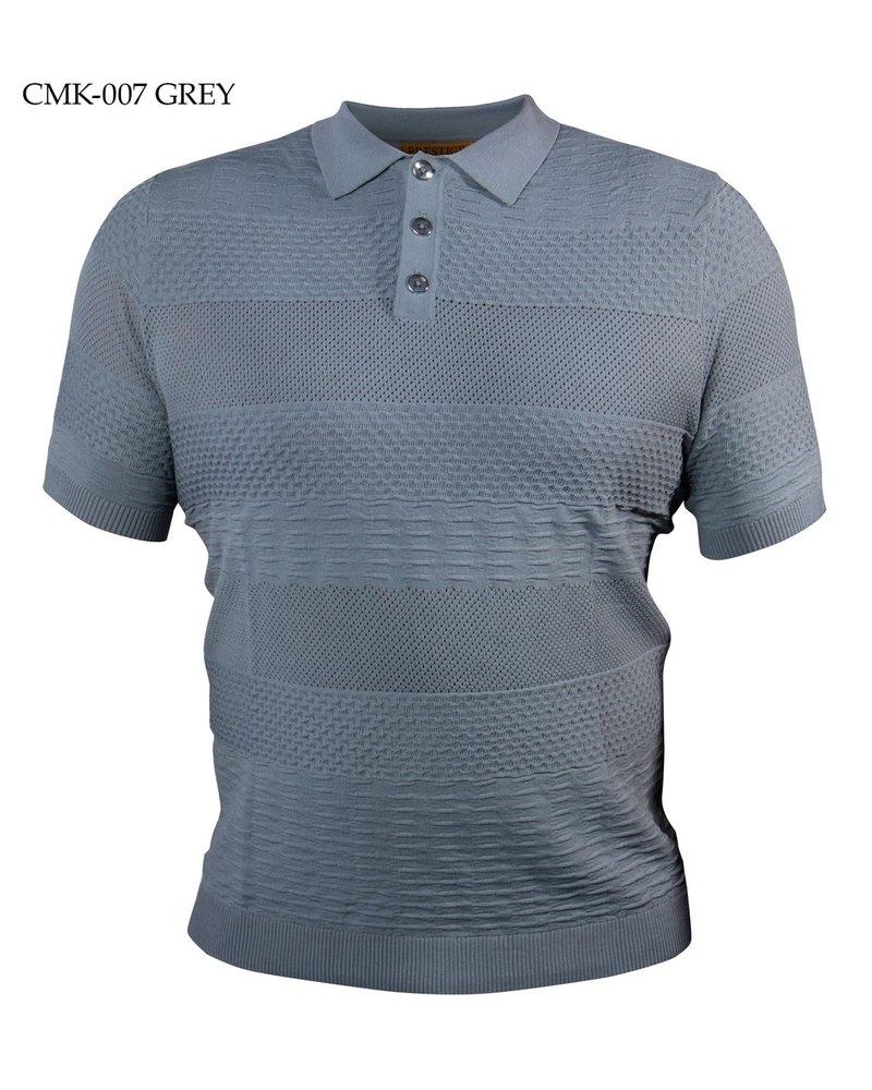Prestige Textured Polo Knit
