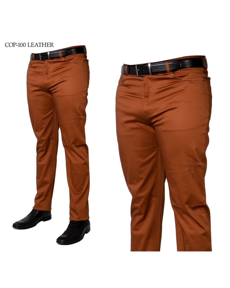 Prestige Tailored Denim Cotton Pants