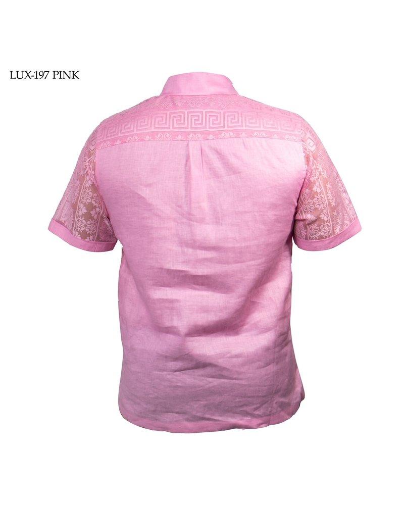 Prestige S/S Front Lace Linen Set