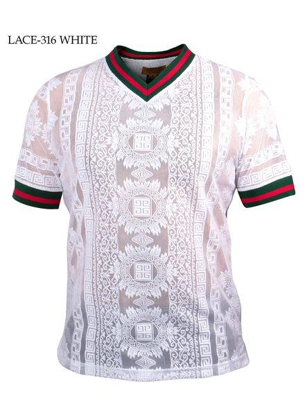 Prestige V-Neck Lace Shirt