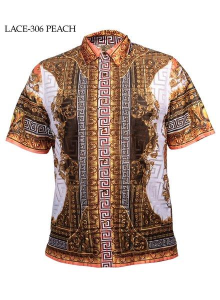 Prestige Lion Head Lace Shirt