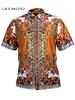 Prestige Lace Greek Print Shirt