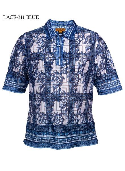 Prestige Pullover Print Lace Shirt