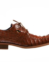 Belvedere Genuine Caiman Crocodile Shoe