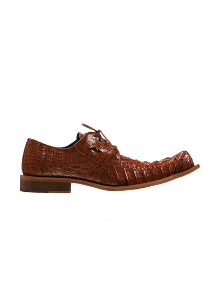 Belvedere Genuine Caiman Crocodile Shoe