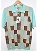 Cigar Geometric Polo Knit Shirt