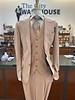 Tiglio Gaberdine Solid Vested Suit