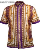 Prestige Lace Print Shirt
