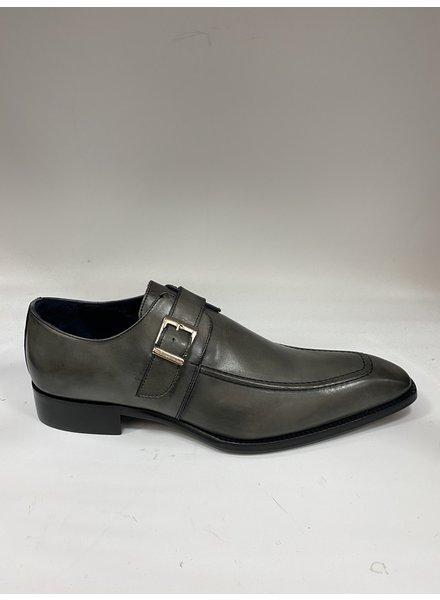 Duca Monk Strap Leather Shoe (Garda)