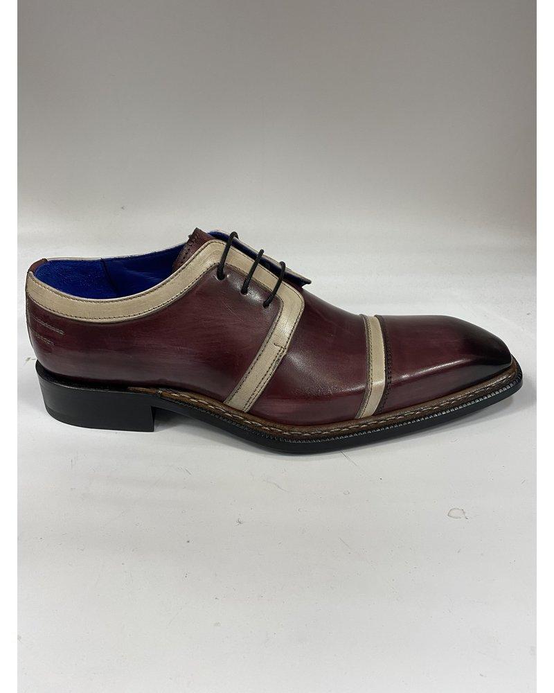 Emilio Franco 2 Tone Leather Lace Shoe (Gino)