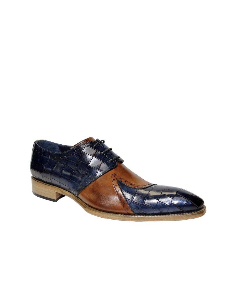 Duca Two Tone Leather Shoe (Valentino)