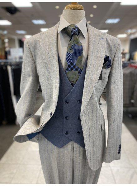 Tayion Chalk Stripe Compose Suit