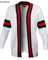 Prestige Web Cardigan Sweater