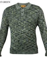 Prestige L/S Missoni Polo Knit