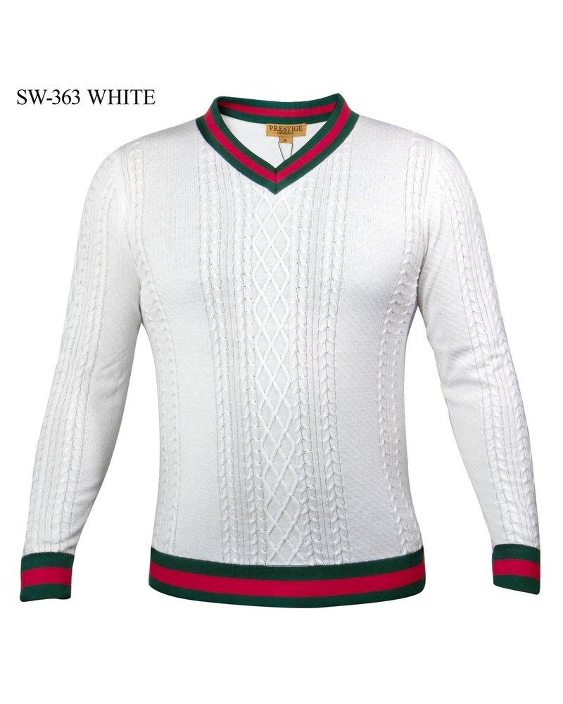 Prestige L/S Web Cable Knit Sweater